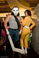 Casey Jones and April O'Neil 3 by megmurrderher