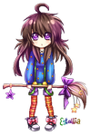 Witch Pixel Icon Thingy [Kyoko OC] by Estallia