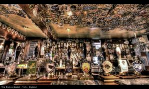 Traditional English Pub HDR by nat1874