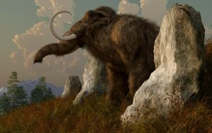 A Mammoth on Monument Hill by deskridge