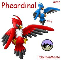 Pheardinal 012 by PokemonMasta