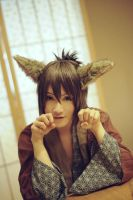 Hakuouki Souji  Fox ears by 0hagaren0