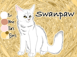 Swanpaw of RiverClan - Trail of Ashes by Jayie-The-Hufflepuff