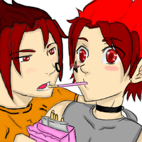 Deane and Dante twins-OC by Lina1562
