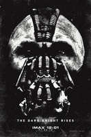 Bane The Dark Knight Rises Poster Vector by anubis55