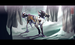 Snow and Silence by: runandwine by vesper-hollow
