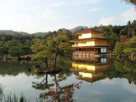Kinkaku-ji Temple 02, Kyoto, Japan by mac-chipsie