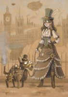 Steampunk! by Pseudolonewolf