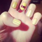 Zooey Deschannel inspired Nail Art by Hey-Sarah-Sarah