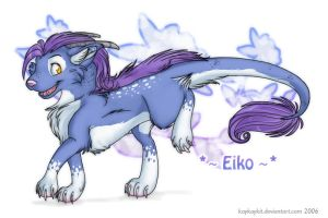 Commish Trade - Eiko by kaykaykit