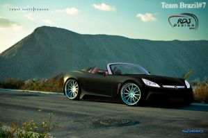 Opel GT Black by RDJDesign