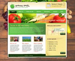 Web interface - Granny Smith by skythlee