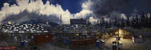 Hunted (COD 4 Panorama) by micycle