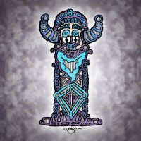 Totem Idolised by Mr-Crease