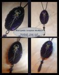 Gothic Scorpion Necklace by LostMemoryOfADream
