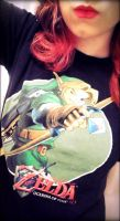 Link shirt by FallingIntoPiecesxxx
