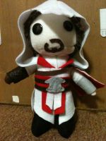 Brotherhood Ezio Plushie Complete by SuperiorMushroom