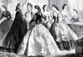 1861 fashion illustration by April-Mo