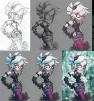 Miss Kezziah -Step by Step- by Quimtuk