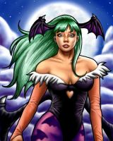 Morrigan Aensland by Evangeline-Art