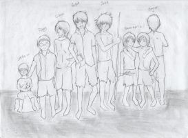 Lord of the flies Characters by R-e-B-i-R-t-H