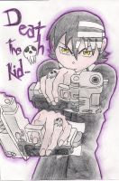 Death the Kid and his Twin Guns by Shaynihx
