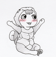 Baby squirtle by Alisha-town