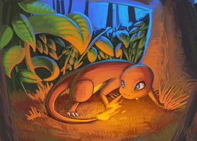 Charmander by DrManiacal