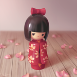 Kokeshi by Selven7