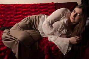 Reclining clothed by photomystique