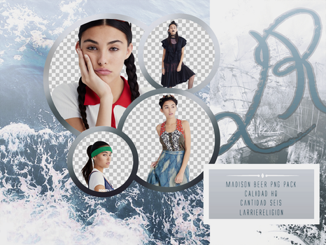 Madison Beer, png pack. by larriereligion