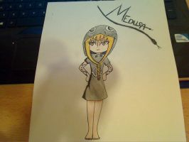 Medusa Chibi From Soul Eater (Fanmade) by Seraphim-Chan