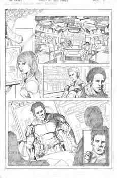 Pencil pages samples by ivancortezvega