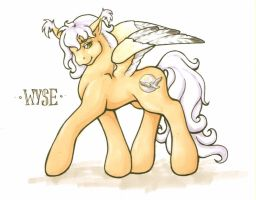 Wyse Pony by aubergine