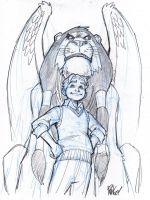 DAVID and GOLIATH by Wieringo