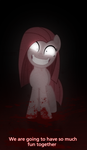 Pinkamena wants to play with you by VanilleCream