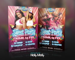 Sweet Dance Party Flyer by imagingdc
