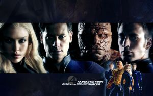 Fantastic 4 Wallpaper by krazeea