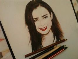 My LILY COLLINS by SofiaAliens