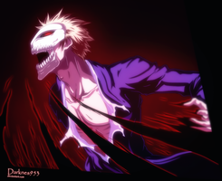 Bleach 344 : Vaizard Ichigo by DarkNyash