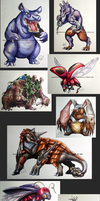 Pokeddex 2014 Least Favourites by ShadeofShinon