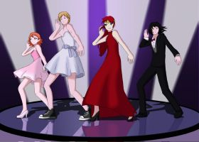 Dance Dance Team JNPR by DGsilv3r