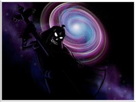Terror of the Multiverse - Benito`s Shadowy Ghost by Dreamer-In-Shadows