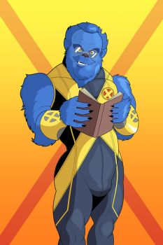 Astonishing X-Men - Beast (2) by OwenOak95
