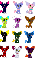 Pichu Adoptables :CLOSED: by toadettegal-tk