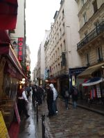 french alleyway by treehugginhippie