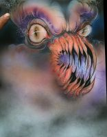 Monster airbrush by infiltr8arts