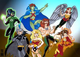 River Twine: Justice League by Eregyrn