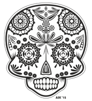 Sugar Skull. by sircostas