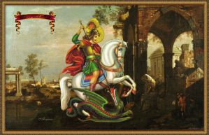 St. George the Dragon by Alimera